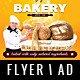 Bakery Flyer / Magazine AD - GraphicRiver Item for Sale