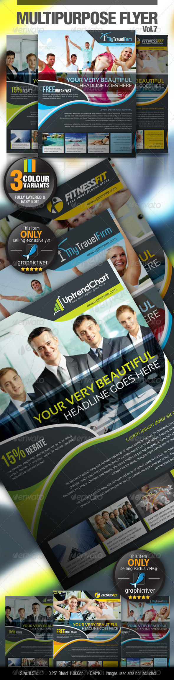 Multipurpose Business Flyer Vol.7 - Miscellaneous Events