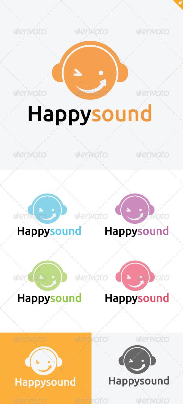 Happy Sound Logo - Humans Logo Templates
