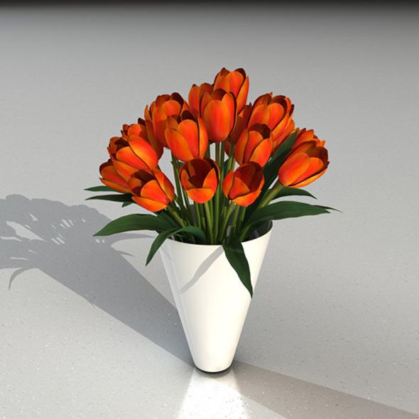 tulips - 3DOcean Item for Sale