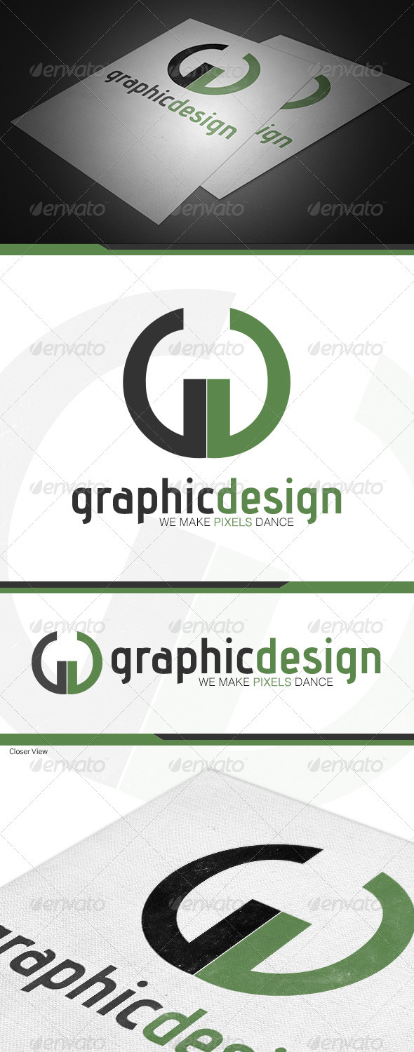 Graphic Design Logo Template - Logo Templates