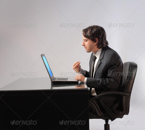 Businessman Doubt - Stock Photo - Images