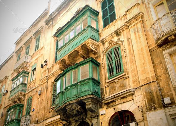 Malta Windows - Stock Photo - Images