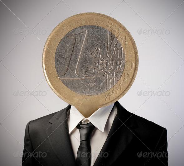 Euro Man - Stock Photo - Images