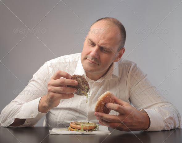 Controlling the Meal - Stock Photo - Images