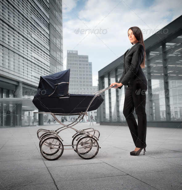 Mother in Career - Stock Photo - Images