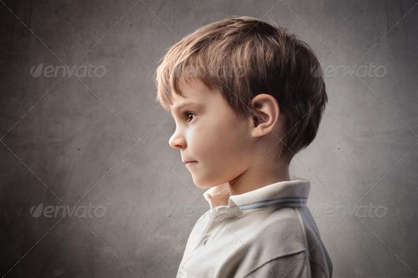 Child Profile - Stock Photo - Images