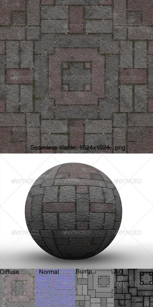 Pavement 12 - 3DOcean Item for Sale