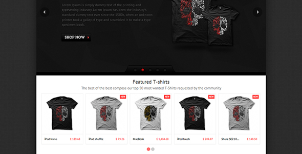 T-shirts - PrestaShop Theme - Fashion PrestaShop