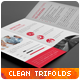 Clean Multipurpose Corporate Trifold Templates - GraphicRiver Item for Sale