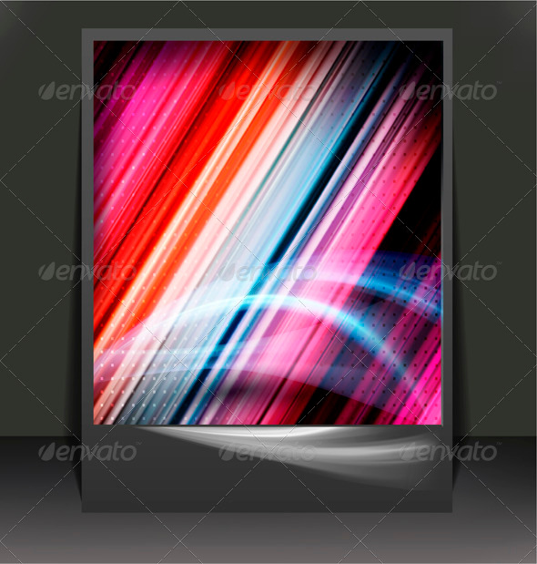Business elegant abstract colorful background - Backgrounds Business