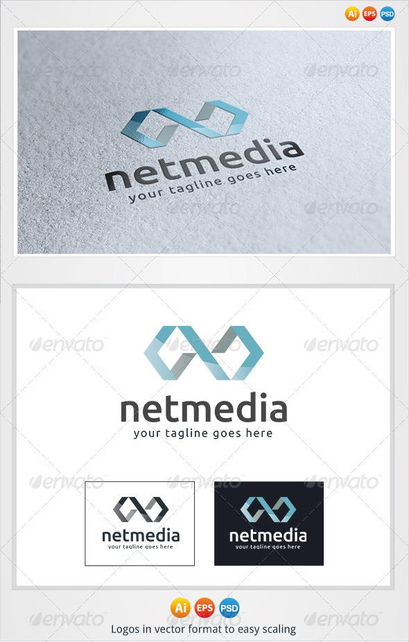 Net Media Logo - Symbols Logo Templates