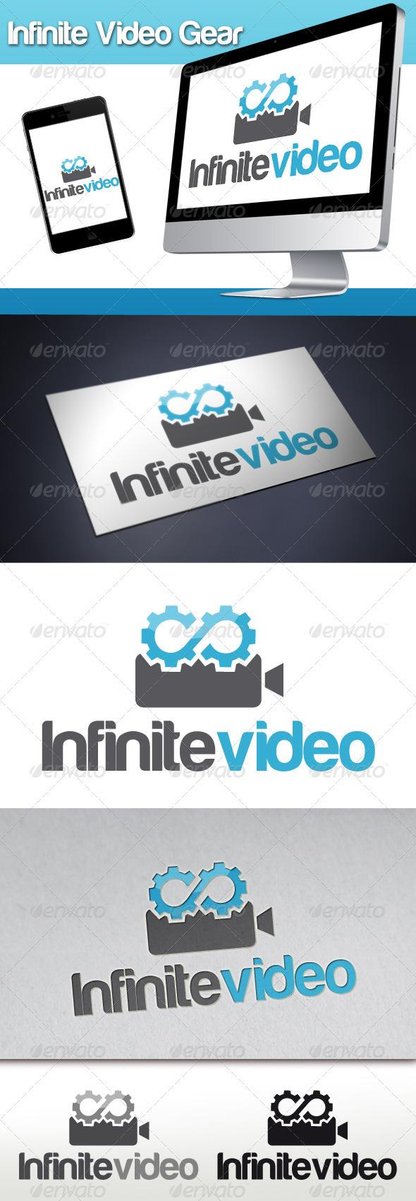 Infinite Video Gear Logo - Objects Logo Templates