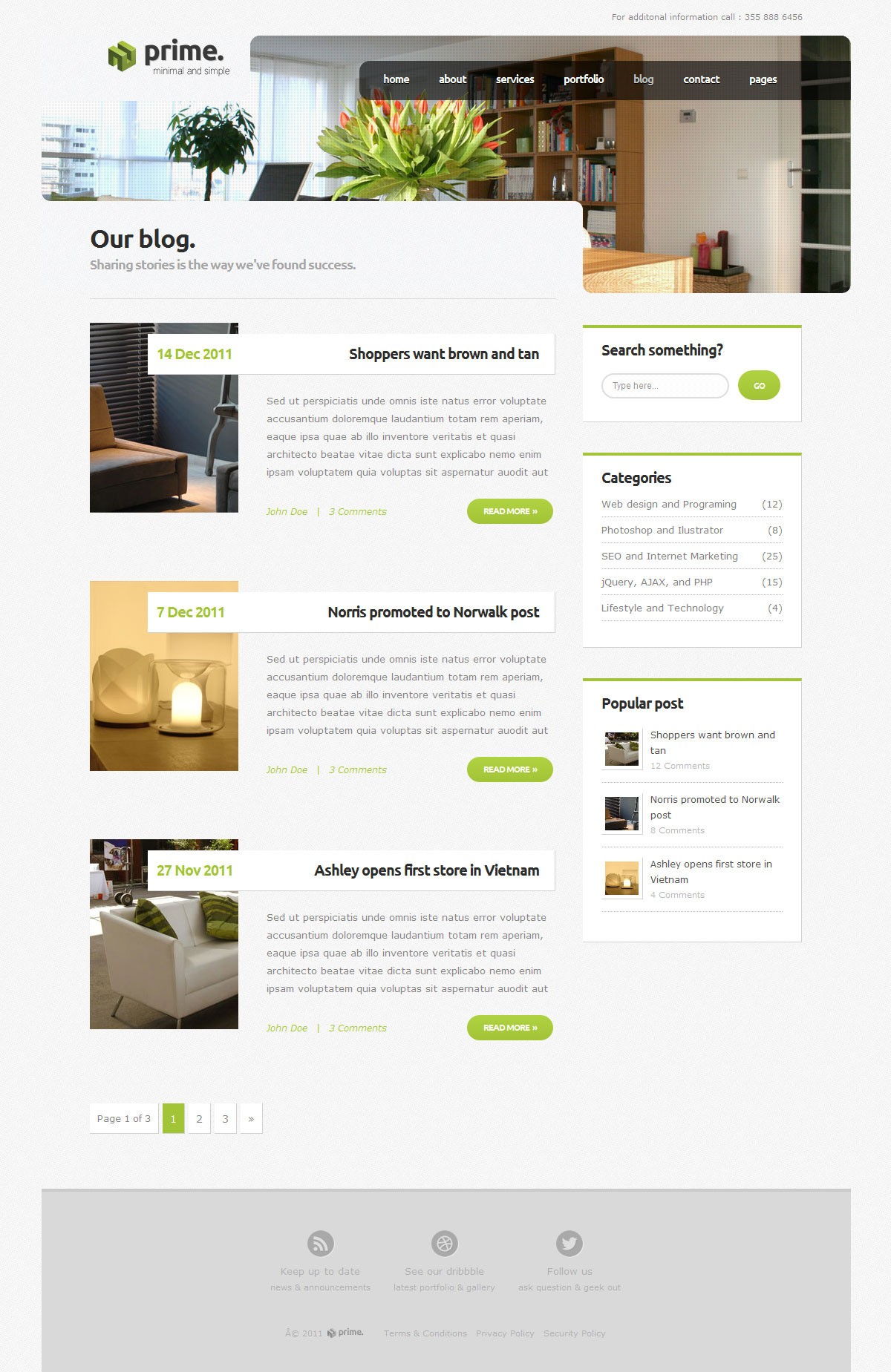 prime simple business wordpress theme 3 by indonez themeforest. Black Bedroom Furniture Sets. Home Design Ideas