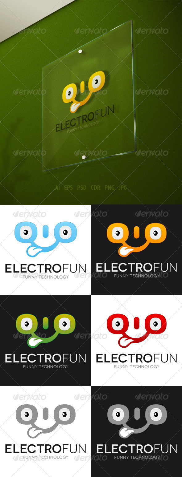 Electrofun Logo - Vector Abstract