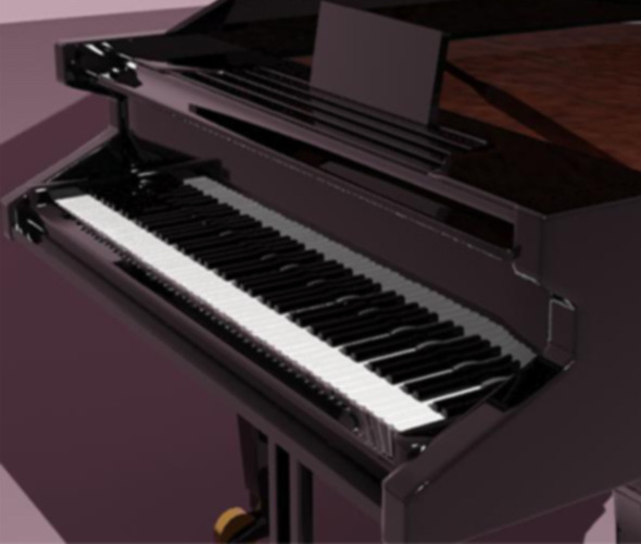 Piano - 3DOcean Item for Sale