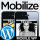 Mobilize - jQuery Mobile WordPress Theme Nulled