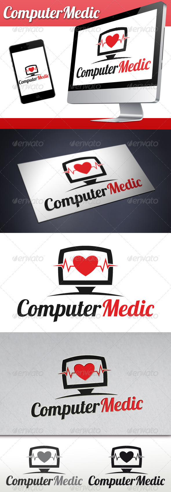 Pc Medic Logo - Objects Logo Templates