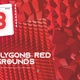 3D Polygons Red Backgrounds - VideoHive Item for Sale