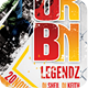Urban Legendz Party Flyer - GraphicRiver Item for Sale