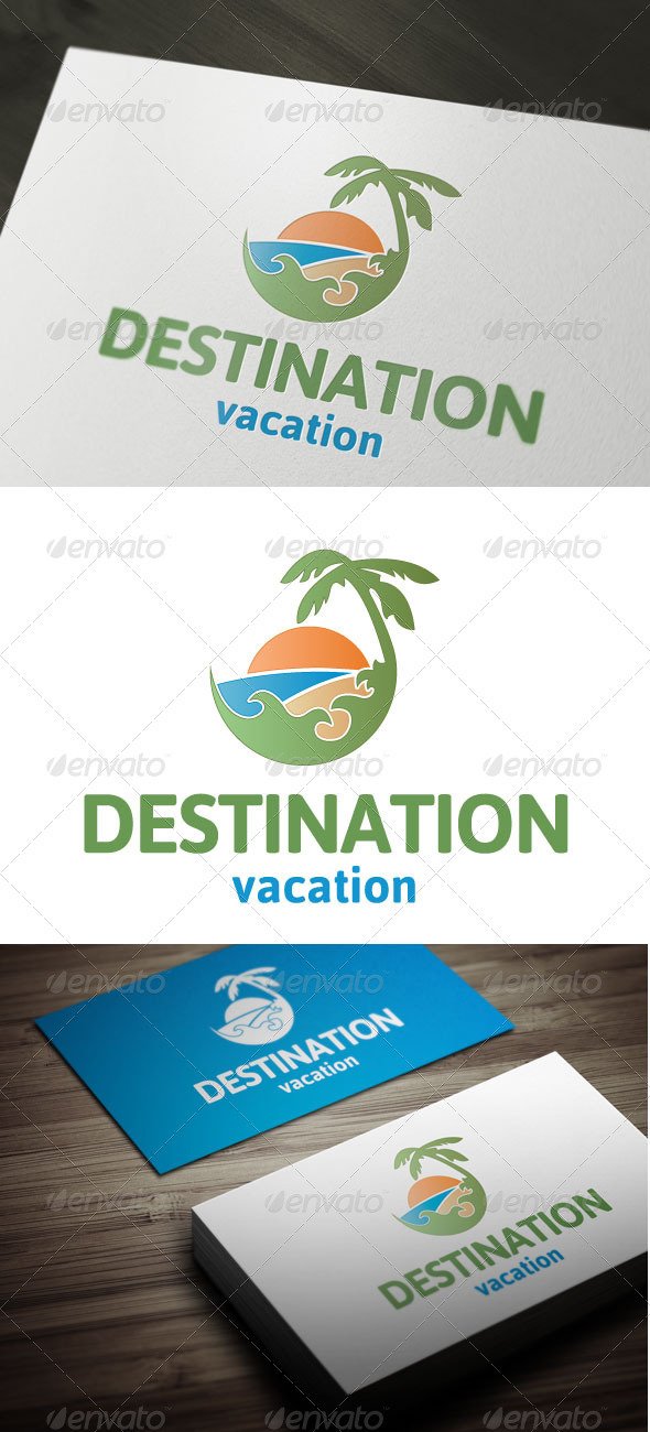 Destination - Nature Logo Templates