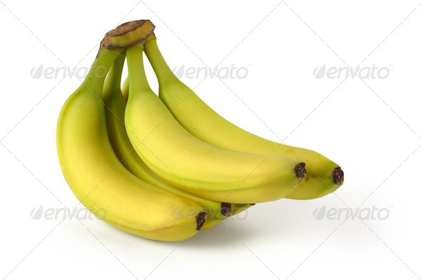 Bunch of bananas - Stock Photo - Images