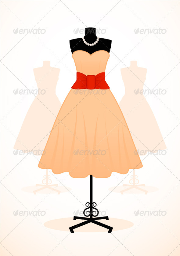 Vintage Dress - Commercial / Shopping Conceptual