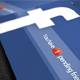 Facebook Promotional Business Cards - GraphicRiver Item for Sale