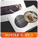 3in1 Creative Photography Portfolio A4 Brochures - GraphicRiver Item for Sale