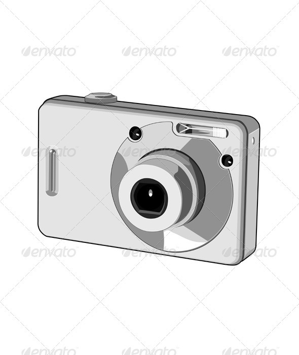 Digital Camera Retro - Man-made Objects Objects