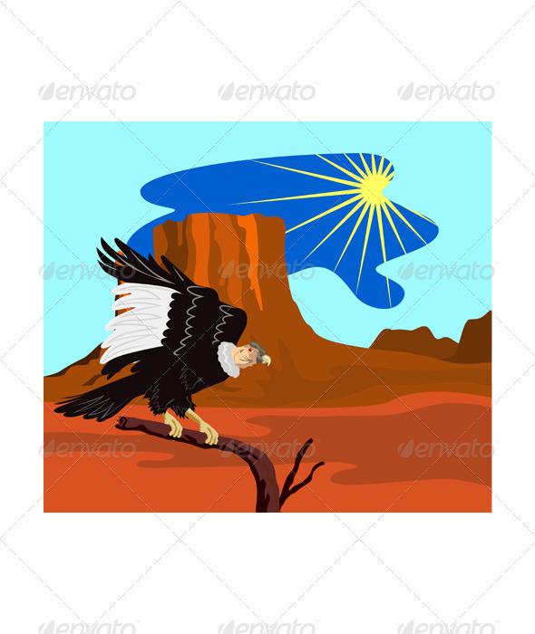 Vulture Buzzard Bird - Animals Characters