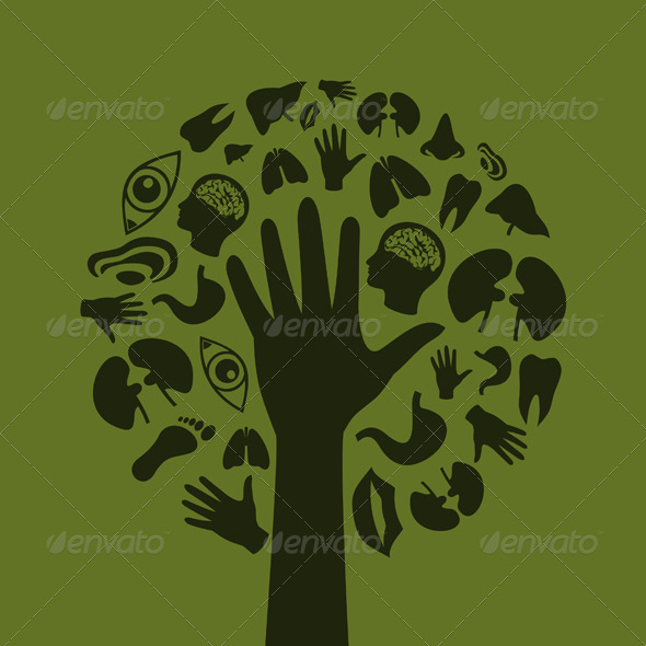 Hand a tree3 - People Characters
