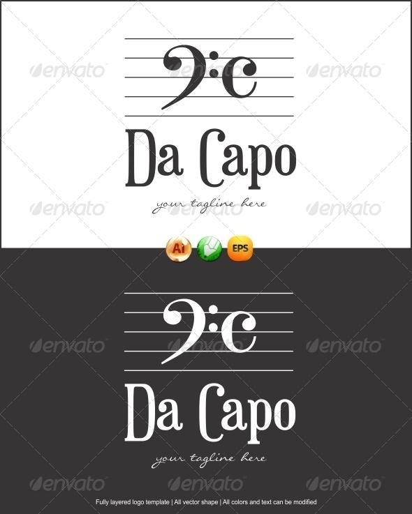 Da Capo Logo - Symbols Logo Templates
