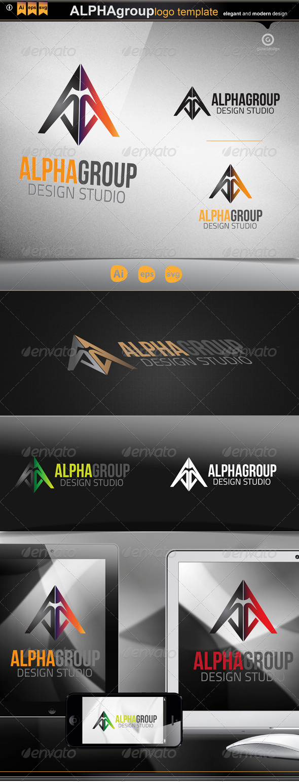 Alpha group - Logo Templates