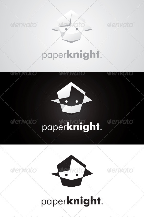 Paper Knight Logo - Humans Logo Templates
