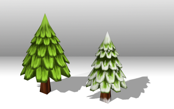Christmas Tree Low Poly By Playdesign 3docean