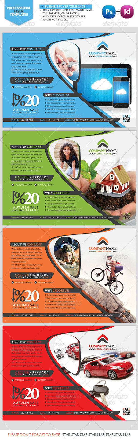 Business Flyer Tecnology - Corporate Flyers
