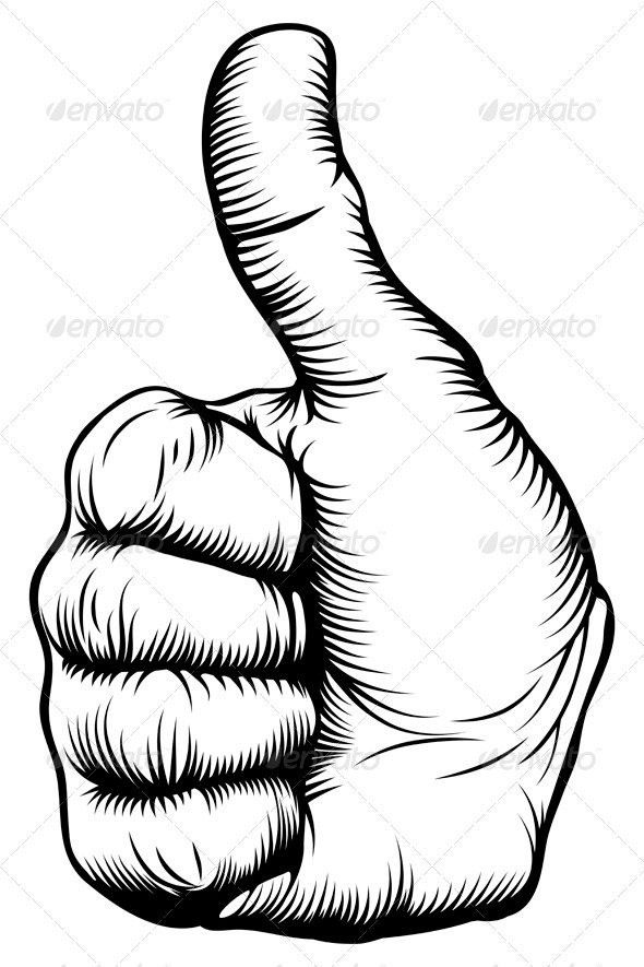 Thumbs up hand - Miscellaneous Conceptual