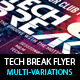 Tech Breaks Flyer Template - GraphicRiver Item for Sale