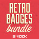 Retro Vintage Badges Bundle - GraphicRiver Item for Sale