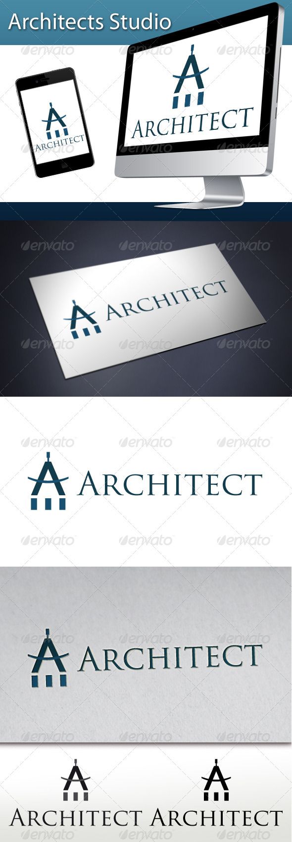 Architects Studio Logo 1 - Letters Logo Templates