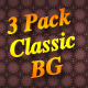 3 Pack Classic Backgrounds - GraphicRiver Item for Sale