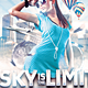 Sky Is The Limit Club Flyer - GraphicRiver Item for Sale