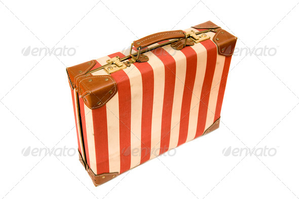 Vintage suitcase - Stock Photo - Images