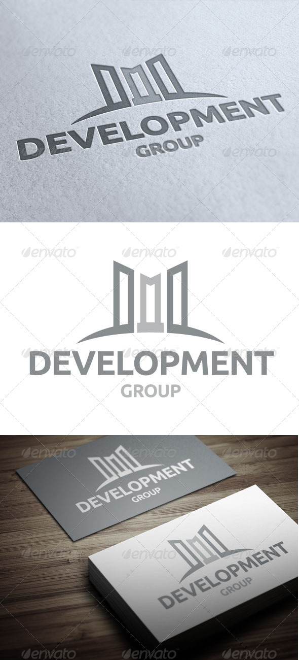 Development Group - Buildings Logo Templates