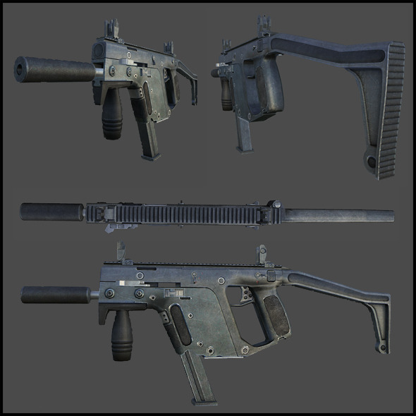 TDI Vector (KRISS Super V) - Submachine Gun - 3DOcean Item for Sale