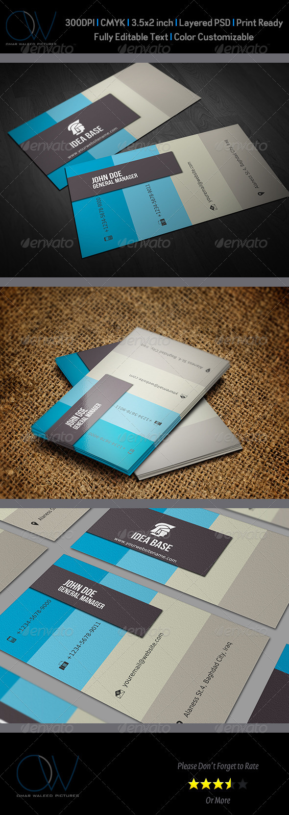 Corporate Business Card Vol.5 - Corporate Business Cards