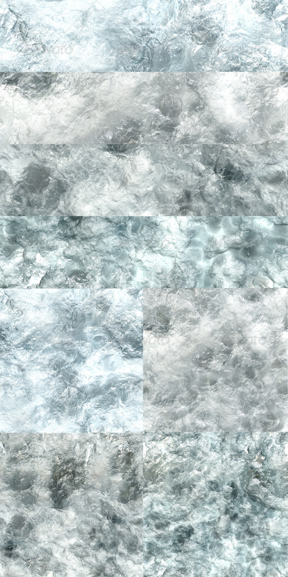 4 Ice Textures - Miscellaneous Textures