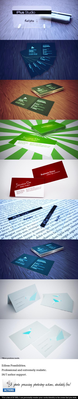 Ultimate Business Card Mock-Up Set