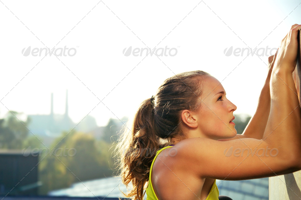 Traceur Participating In Parkour Climbing - Stock Photo - Images